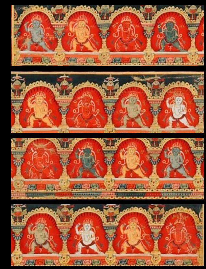 Explore the Four Mandalas of the Vajravali Cycle