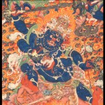 Four Faced Mahakala detail