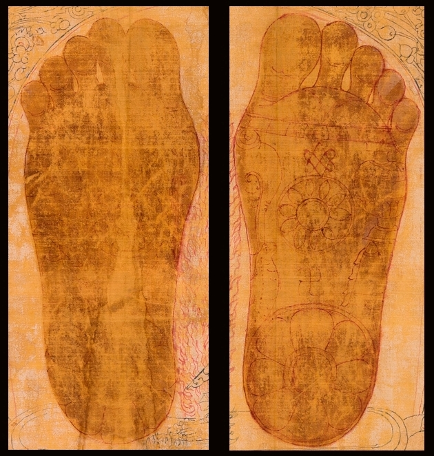 Chakrasamvara and the Footprints of Drigungpa
