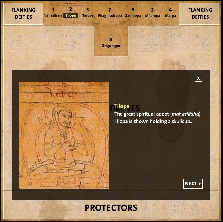 Chakrasamvara and the Footprints of Drigungpa